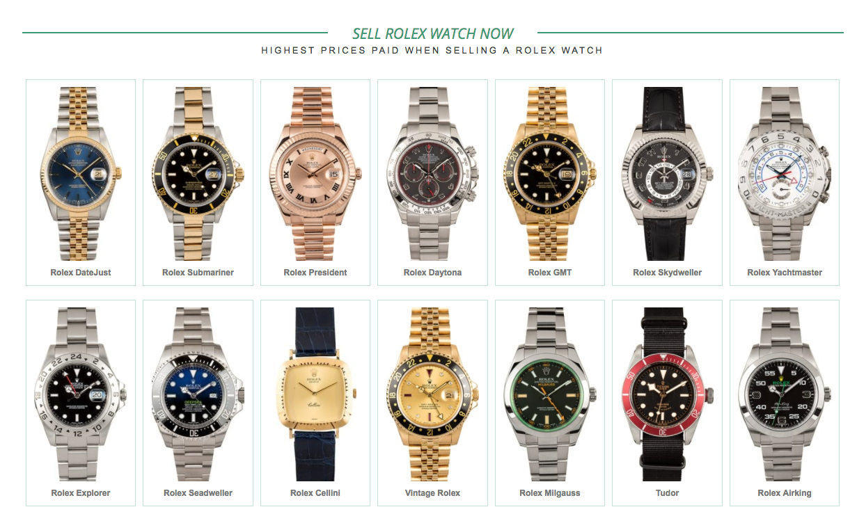 458681447c2 Pre-Owned Rolex Watches